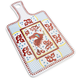 Red Rooster Melamine Cheese Paddle