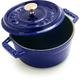 Staub Marin-Blue Round Cocottes