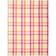 Pink Small-Check Kitchen Towel
