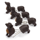 Sur La Table® Dog Corn Holders, Set of 8