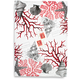 Red Coral Kitchen Towel