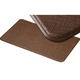 Imprint Cobblestone Kitchen Mats, Toffee Brown