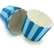 Paper Eskimo Blue-Stripe Baking Cups, Set of 25