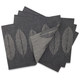 Chilewich Steel Leaf Jacquard Placemat