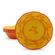 Yellow French Floral Cereal Bowl