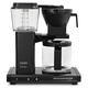 Technivorm Moccamaster Coffee Maker with Glass Carafe, Black Metallic