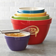 Ceramic Mixing Bowls, Set of 5