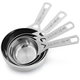 Le Creuset® Stainless Steel Measuring Cups, Set of 4