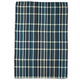 Teal Waffle Check Kitchen Towel