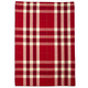 Red Large-Plaid Kitchen Towel, 28