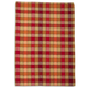 Red Medium-Check Kitchen Towel