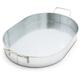 Galvanized Oval Tray