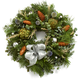 Winter Artichoke Wreath