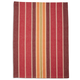 Red Chambray Stripe Kitchen Towel, 28