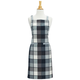 Gray Buffalo Plaid Apron