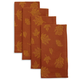 Sur La Table® Jacquard Leaf Napkins, Set of 4