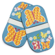 Butterfly Mini-Grip Pot Holders, Set of 2
