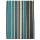Teal Chambray Stripe Kitchen Towel