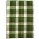 Green Buffalo Check Kitchen Towel, 28