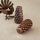 Bronze Pinecone Salt & Pepper Shakers