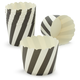 Paper Eskimo Black and White Baking Cups, Set of 25