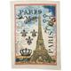 Michel Designs® Paris Kitchen Towel, 28