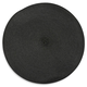 Sur La Table® Black Round Woven Placemat
