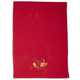 Red Leaf Embroidered Kitchen Towel