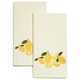 Lemon Embroidered Kitchen Towel, 28