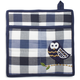 Checkered Owl Vintage-Inspired Pot Holder