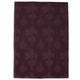Purple Beet Jacquard Kitchen Towel