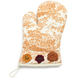 Copper Toile Vintage-Inspired  Oven Mitt