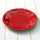 Red Melamine Plates