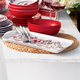Red Rooster Melamine Sandwich Tray
