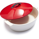 Revol Revolution Pepper-Red Oval Cocotte, 4¾ qt.