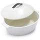 Revol® Revolution White Oval Cocotte, 4¾ qt.