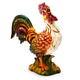 Italian Hand-Painted Rooster