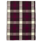 Purple Buffalo Check Kitchen Towel