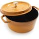 Staub® Saffron Round Cocottes