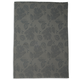 Gray Leaf Jacquard Kitchen Towel, 28