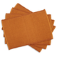 Sur La Table® Copper Waffle-Ribbed Placemats, Set of 4