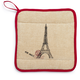 Eiffel Tower Vintage-Inspired Pot Holder