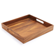 Acacia Wood Square Tray