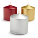 Metallic Votive Candles, Set of 6