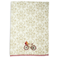 Red Bicycle Vintage-Inspired Kitchen Towel