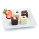 Black and White Petit Fours, 60 Pieces