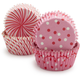 Meri Meri Toot Sweet Pink Bake Cups, Set of 48