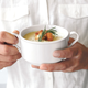 Blanc Double-Handle Soup Bowl