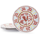 Red Rooster Melamine  Plates