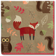 Meri Meri® Woodland Critters Cocktail Napkins